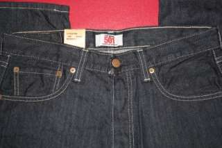 NWT NEW MENS LEVIS 501 BUTTON FLY JEANS SIZE 33X30 #341