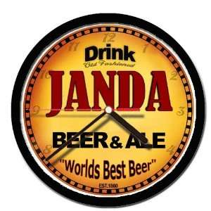 JANDA beer and ale cerveza wall clock: Everything Else
