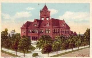 ORANGE COUNTY COURT HOUSE   SANTA ANA CALIFORNIA