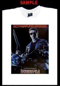 THE TERMINATOR T2 JUDGEMENT DAY CUSTOM T SHIRT TEE 1515