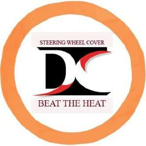 Orange steering wheel cover. Beat the heat Automotive
