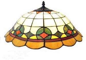 LEADED STAINED GLASS 19 LAMP SHADE*NIB*ORIG $330.00