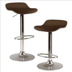 Winsome Kallie set of 2 Air Lift Adjustable Stool