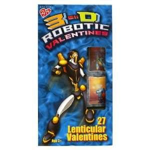 Paper Magic Robotic 3 D Lenticular Valentine Trading Cards