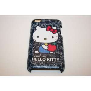 and WHITE SITTING HELLO KITTYS WITH RED APPLE BACK SNAP ON CASE COVER