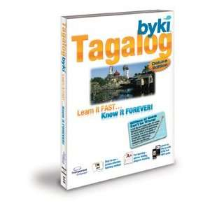 Byki Tagalog Language Tutor Software & Audio Learning CD