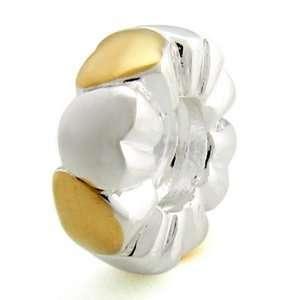 .925 Silver Heart Ring Fits OHMBeads Pandora Troll Charm