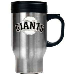 SAN FRANCISCO GIANTS STAINLESS STEEL TRAVEL MUG Sports