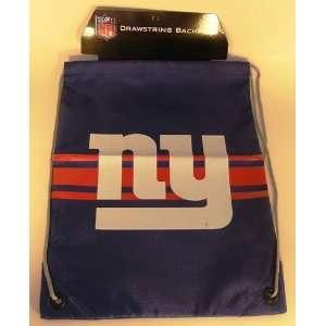 New York Giants NFL Team Drawstring Backpack