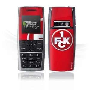 Design Skins for LG KG130   1. FCK Logo Design Folie