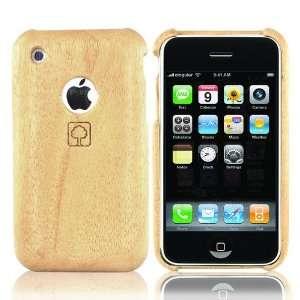 Eco Design Apple iPhone 3G S 100% Hard Wood Case White