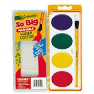 Crayola BIN1500 So Big Water Color Refill 4 Colors: Toys