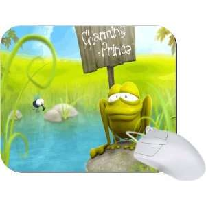 Rikki Knight Prince Charming Frog Mouse Pad Mousepad