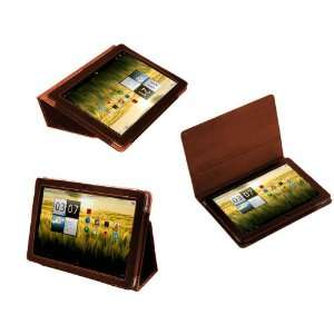 Leather Flip Carry Case With Stand For The Acer Aspire ICONIA TAB A200