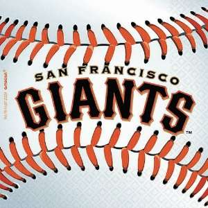 San Francisco Giants Baseball   Beverage Napkins