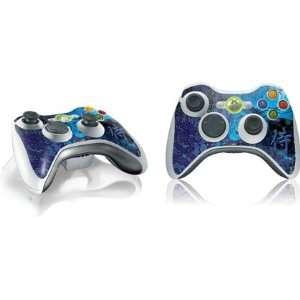 Cool Blue Vinyl Skin for 1 Microsoft Xbox 360 Wireless Controller