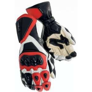 RR Mens Motorcycle Gloves White/Red XXXL 3XL 8391 0101 09 Automotive