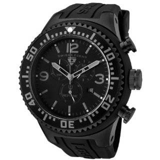 Swiss Legend Mens 21818P BB 01 Neptune Collection Black Textured