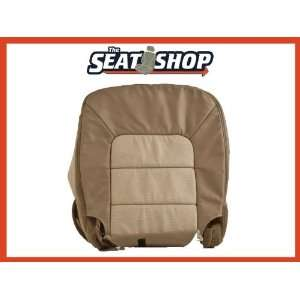 03 04 05 06 Ford Expedition Eddie Bauer 2TTan Perf/AC Leather Cover LH