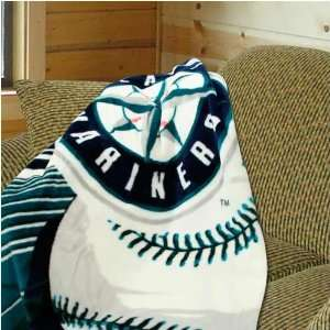 Seattle Mariners 50x60 Big Stick Super Plush Throw