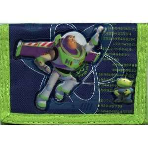 Disney Pixar Toy Story Buzz Lightyear Trifold Walllet Toys & Games