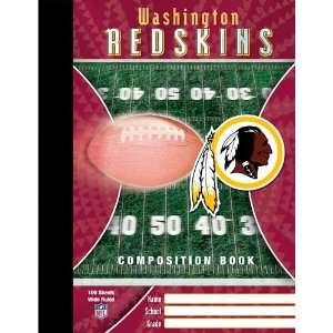 Washington Redskins NFL Composition Book Sports
