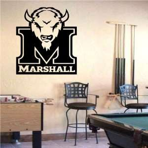 Wall Mural Vinyl Sticker Sports Logos Marshall Thundering Herd (S380