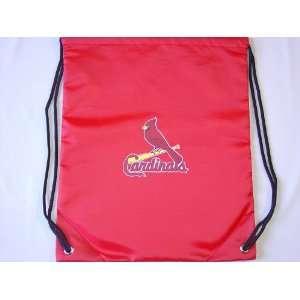 St Louis Cardinals MLB Drawstring / Sling Backpack