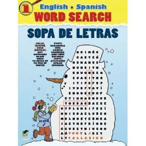 Spanish Word Search/Sopa de Letras #1 (Dover Childrens Language