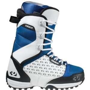 32 Lashed (White/Blue/Black 8) Boots