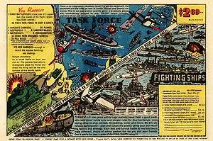 1982 Helen of Toy TASK FORCE FIGHTING SHIPS Vintage Comic Book