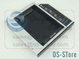 Laptop SATA HDD to ODD CD DVD RW BOX Caddy 12.7mm