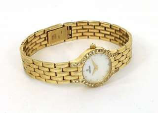 BEAUTIFUL 14K GOLD DIAMONDS LADIES CONCORD WRIST WATCH