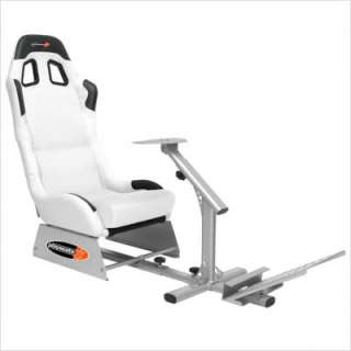 Playseats Evolution Game Chair in White and Silver 72001 679579720017