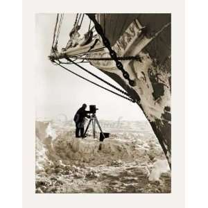 Photograph   Endurance with Frank Hurley: Home & Kitchen