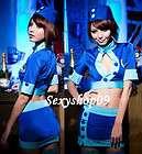 Sexy Police Dress Air Hostess Flight Attendant cosplay christmas