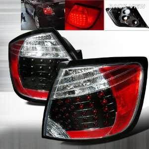 2005 2010 Scion Tc Led Tail Lights Black Automotive