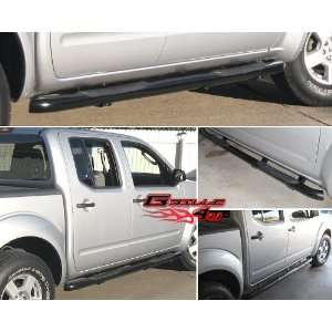 2012 Nissan Frontier Crew Cab Black Nerf Step Side Bars Automotive