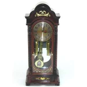 Plastic Table Clock with Rounded Top and Chimes