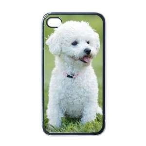 Bichon Frise Dog Puppy Puppies #3 Apple iPhone 4 Case Cover