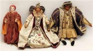 Liberty of London Antique Dolls Henry VIII Queen Elizabeth I