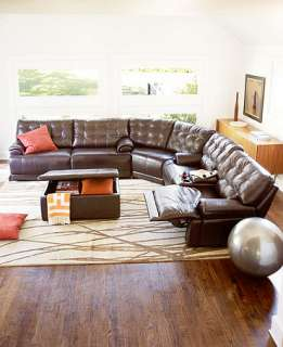 classy design modern brown living room with upholstered sectional sofa