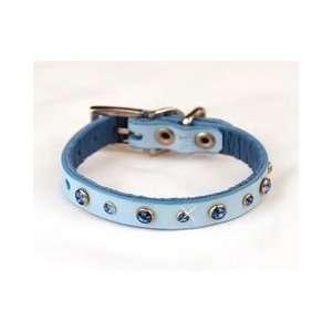Diamond Dogs Blue Swarovski Crystal Sparkling Dog Collar Kitchen