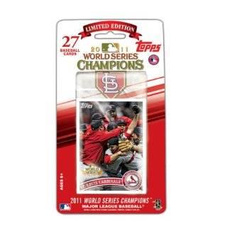MLB St. Louis Cardinals 2011 Topps World Series Champions Baseball