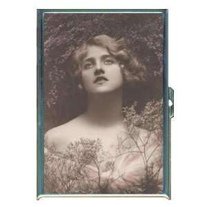1915 Girl in Heather Lovely ID Holder, Cigarette Case or Wallet MADE
