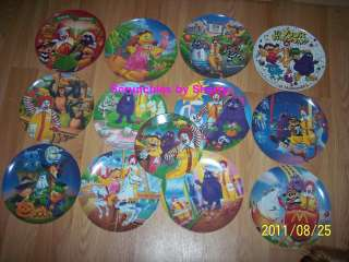 13 Ronald McDonalds Melmac Collectors Plates Holiday Atlanta Birthday