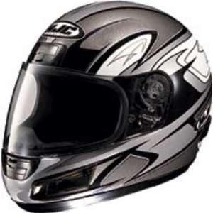 HJC CS 12 CS12 FULL FACE MOTORCYCLE HELMETS VON BREAKER MC5 SLVR SIZE