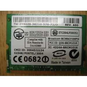 DELL Inspiron 1150 notebook wireless DW1370 802.11g