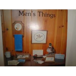 Mens Things Counted Cross Stitch Designs Craft Book Sue
