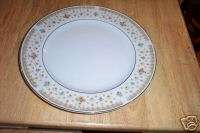 Fine China of Japan dinner plate (Garden Bouquet) 1 ava